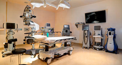 Eye Surgery Center of Hawaii operating room