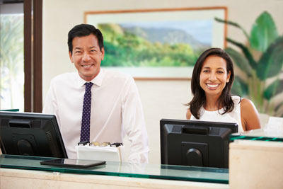 Concierge services for patients of Eye Surgery Hawaii